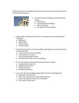 Georgia Third Grade Social Studies Quick Assessments