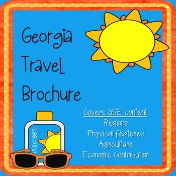 Georgia Travel Brochure - End of Year or Unit