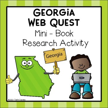 Georgia Webquest Common Core Research Mini Book