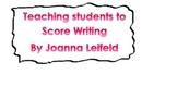 Georgia Writing Assessment: Teaching Students To Score Wri