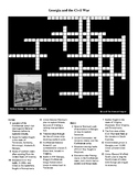 Georgia and the Civil War Crossword