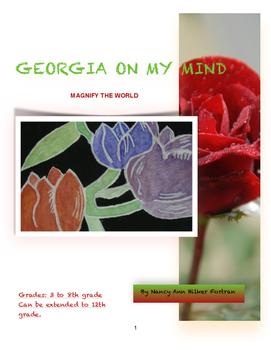 Georgia on my Mind - Georgia O'Keeffe Art Lesson - 3rd - 8th Grade
