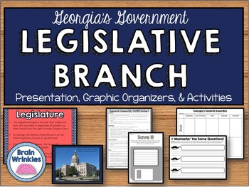 Georgia's Government: Legislative Branch (SS8CG2)