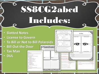 Georgia's Government: Legislative Branch (SS8CG2abcd)