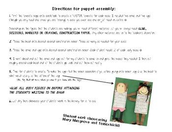 Georgia's Historical Figures Puppet Template