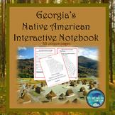 Georgia's Native American Interactive Notebook