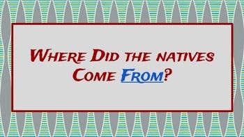 Georgia's Prehistoric Native Americans  + Activities (see description)