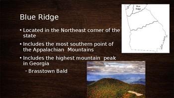 Georgia's Regions Powerpoint