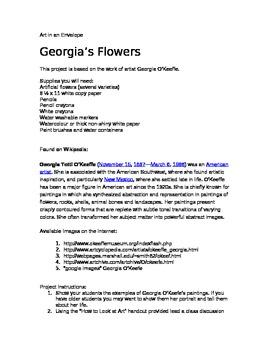 Georgia's Flowers
