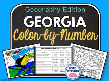 Georgia's Geography: Color-by-Number
