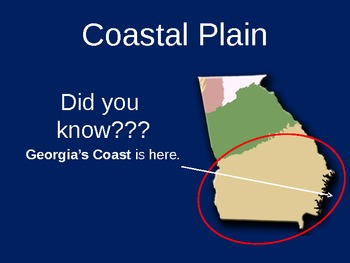 Georgia's Geography: Road Trip to South Georgia PowerPoint