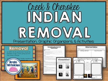 Georgia Studies: Indian Removal (SS8H4)