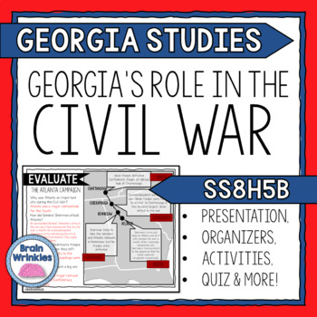 Georgia's Role in the Civil War (SS8H5)