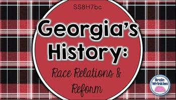 Georgia Studies: Race Relations and Reform