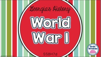Georgia Studies: World War I