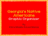 Georgia History Native Americans Graphic Organizer