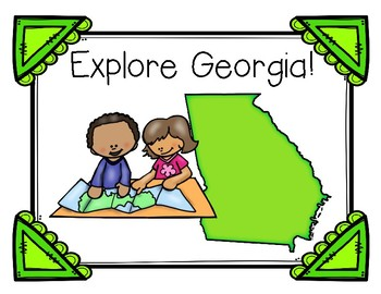 Georgia's Regions and Rivers for Kids!