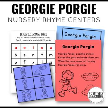 Nursery Rhymes Activities Free