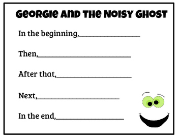 Georgie and the Noisy Ghost