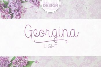 Georgina Light Font for Commercial Use