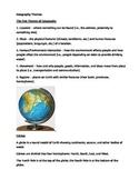 Georgraphy Mini-Lesson