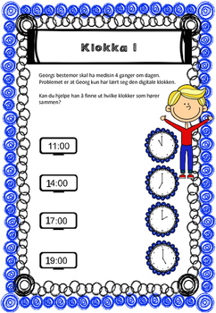 den magiske klokken