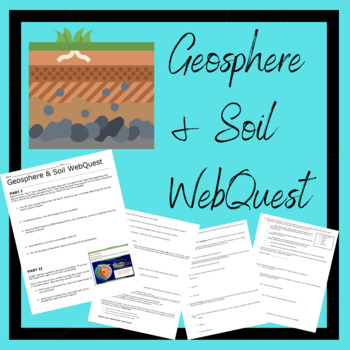 Geosphere and Soil WebQuest- NO key