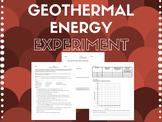 Geothermal Energy Lab *Editable*