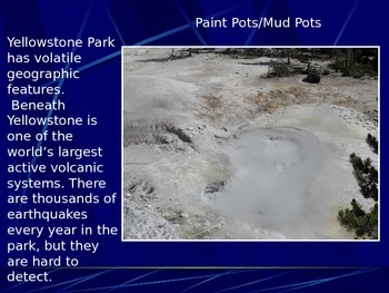 Geothermal Features Yellowstone's Volcano Caldera-Geysers, Hot Springs, Mud Pots