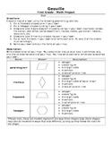 Geoville: Geometric shape homework project