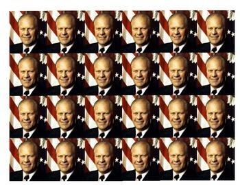 Gerald Ford Historical Stick Figure (Mini-biography)