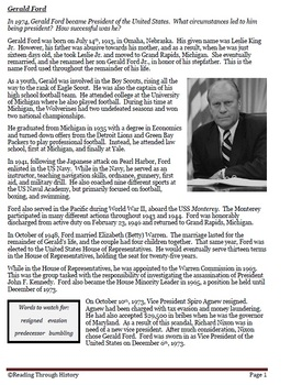 Gerald Ford, the Bicentennial, and Daily Life in the 1970s