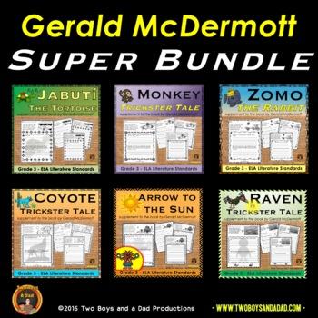 Gerald McDermott Literature Standards Support Pages Super Bundle
