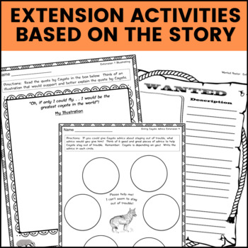 Gerald McDermott Native American Literature Standards Support Pages  Bundle