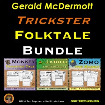 Gerald McDermott Literature Support Pages Trickster Bundle