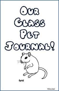 Gerbil Class Pet Journal