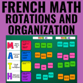 Gérer votre mathématique guidée - Guided Math: Group Organization System French