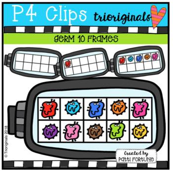 Germ 10 Frames (P4 Clips Trioriginals)