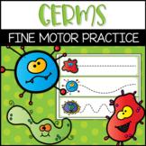 Preschool Germs Pre-Writing Practice