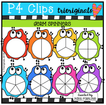 Germ Spinners (P4 Clips Trioriginals)