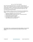 Germ Theory Pamphlet - Spontaneous Generation, Viruses, Koch, Preventing Spread