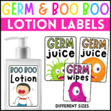 Germ and Boo Boo Labels Bundle