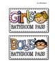 Germ-x Bathroom Passes