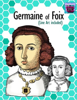 Germaine of Foix Clipart - Realistic Image