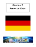 German 2 Semester Final Exam A