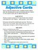 German Adjective Endings Card Game