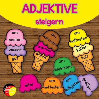 German - Adjektive steigern