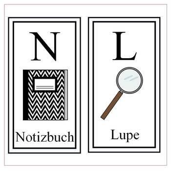 German Alphabet Letter Printables