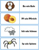 German Alphabet with pictures