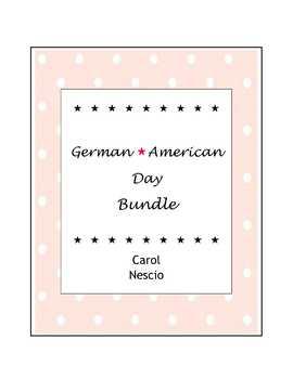 German-American Day * Bundle